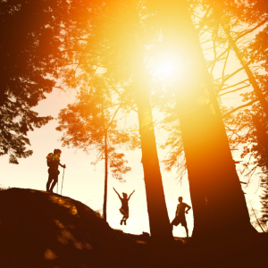 Activation Weekends include adventures outdoors.