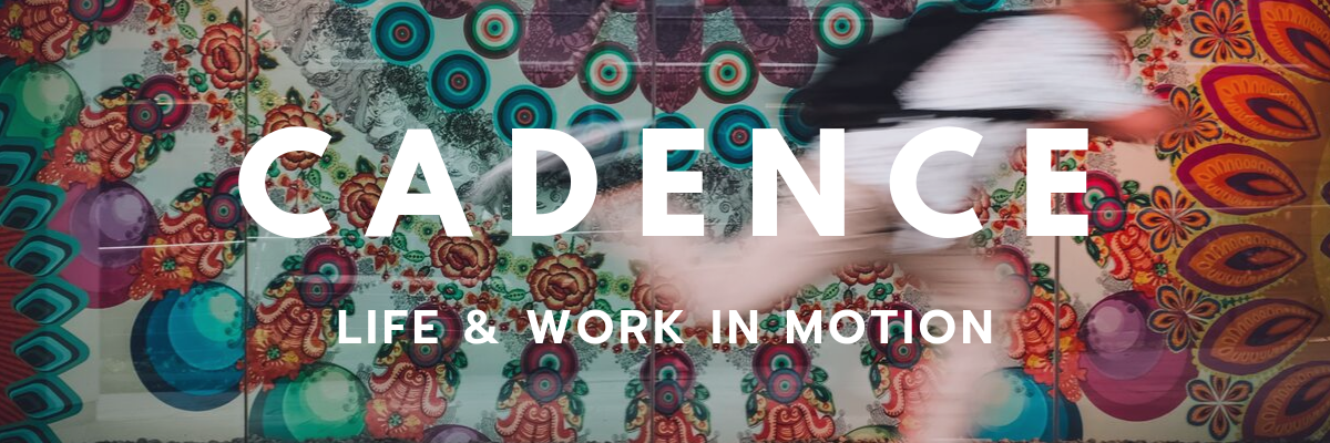 Cadence Life & Work In Motion Monthly Newsletter Header Example